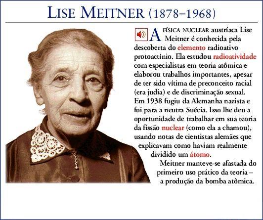 Biografia Resumida De Lise Meitner