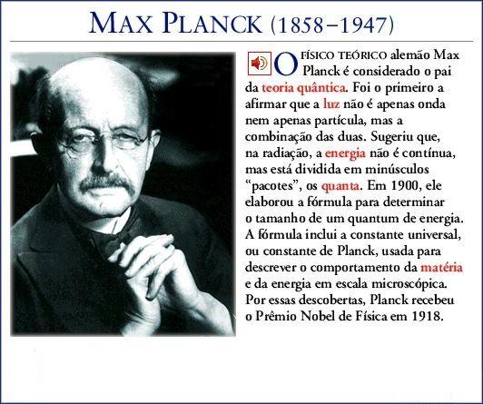 Biografia Resumida De Max Planck